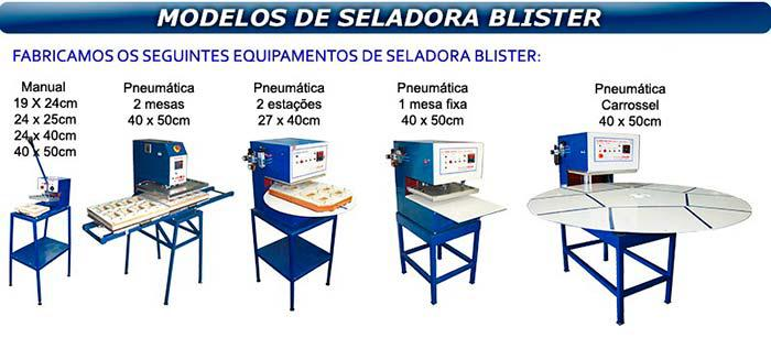 Máquina seladora blister manual