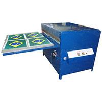 Prensa térmica pneumática / Transfer pneumático 100 x 150 cm