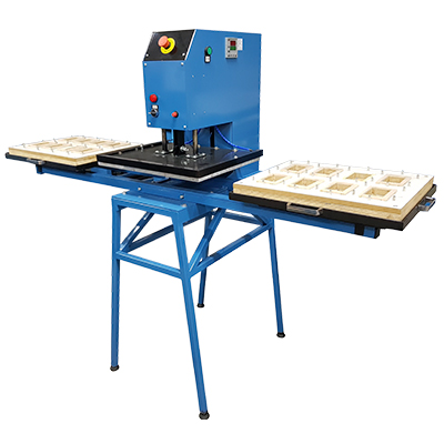 Máquina Seladora Blister 40 X 50cm - 2 Mesas Pneumática