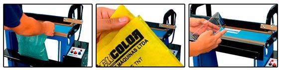 Seladora Industrial para Saco Plástico e TNT