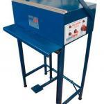 Máquina cortadora e seladora de tnt